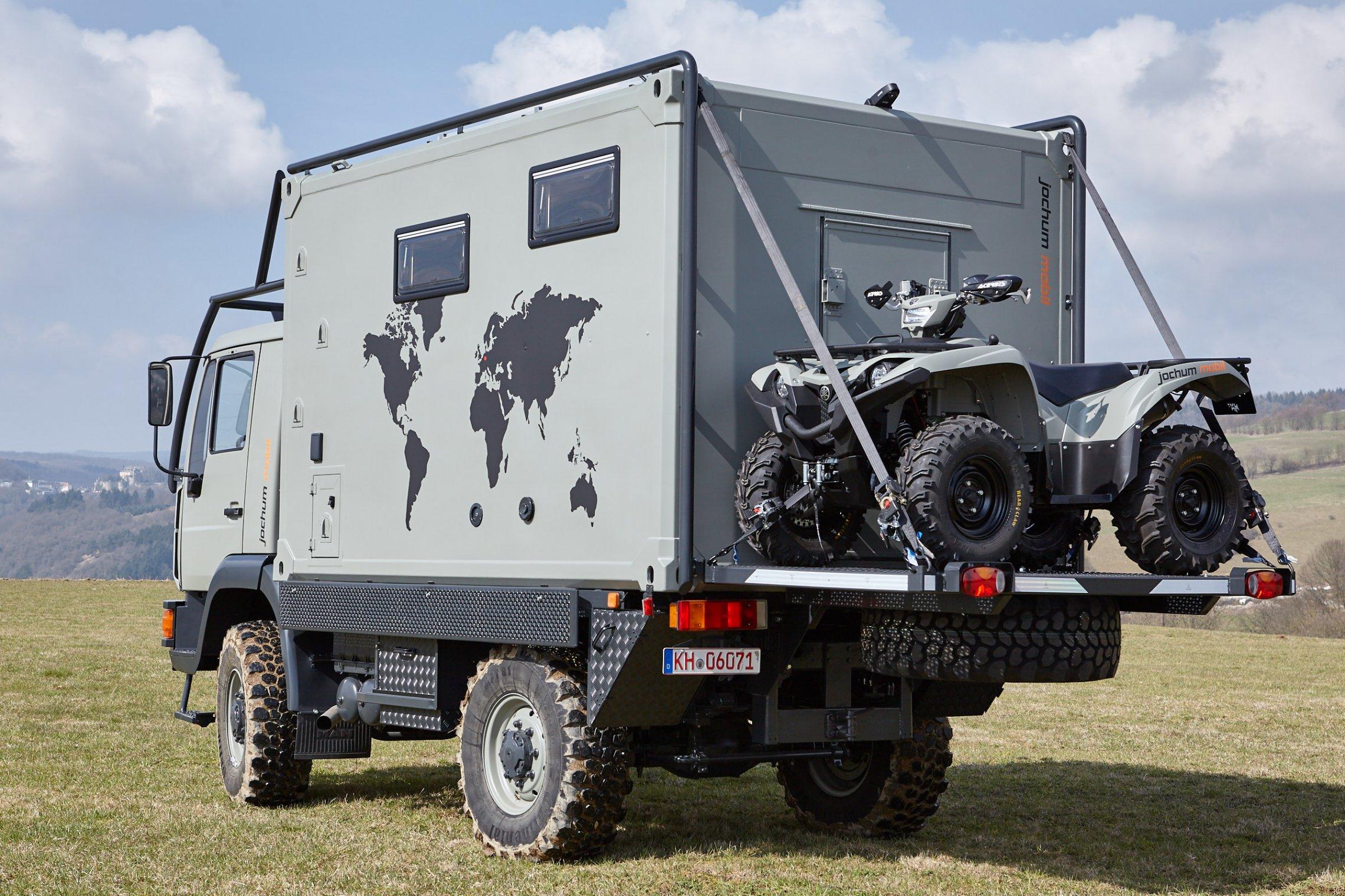 Aufbau Kühlschrank Quad : Man 8.163 expeditionsmobil pkw führerschein