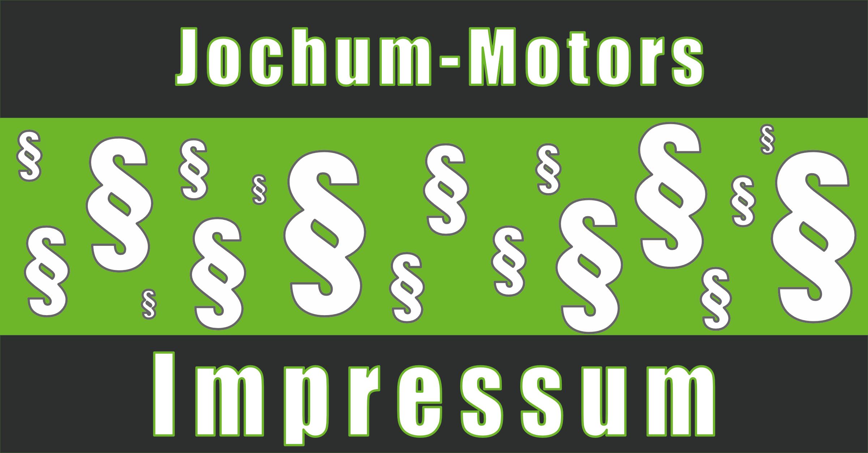 Impressum - Jochum-Motors
