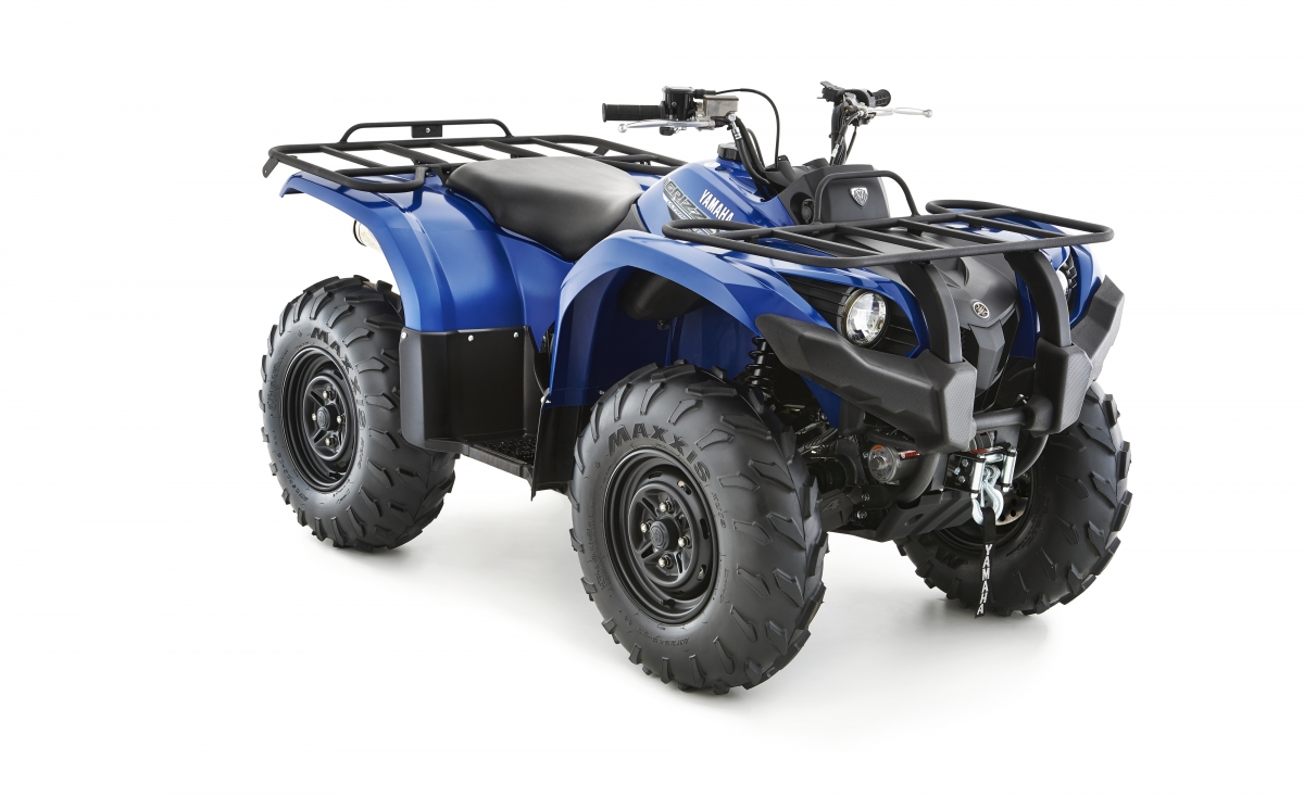 Yamaha Grizzly 450 IRS - Blau