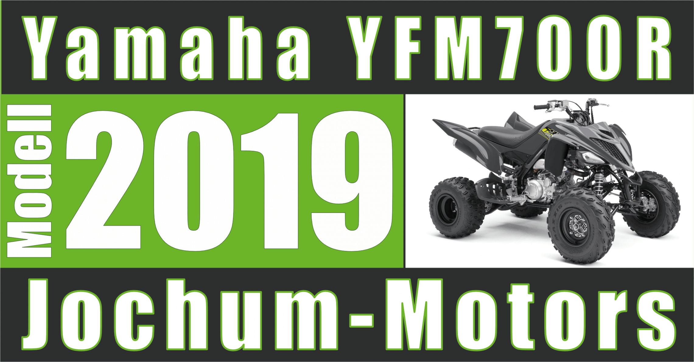 YFM700R ein ATV von Yamaha